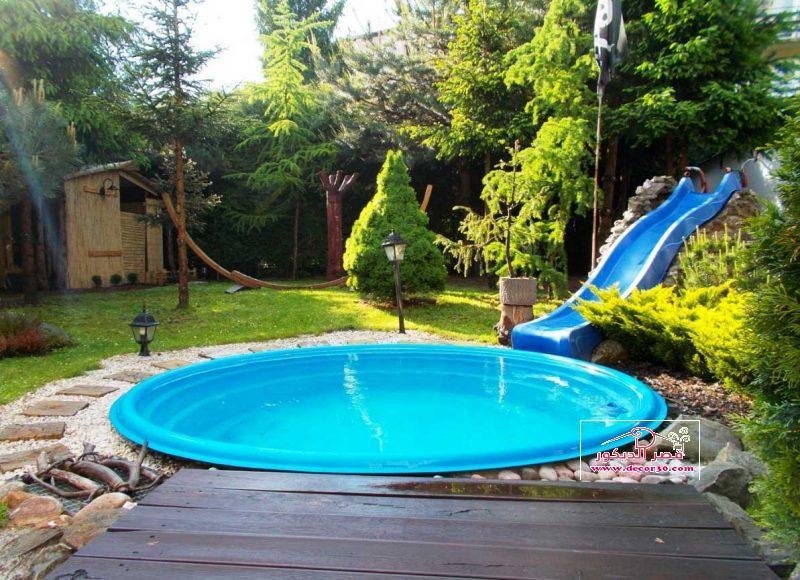 اشكال احواض سباحة منزلية