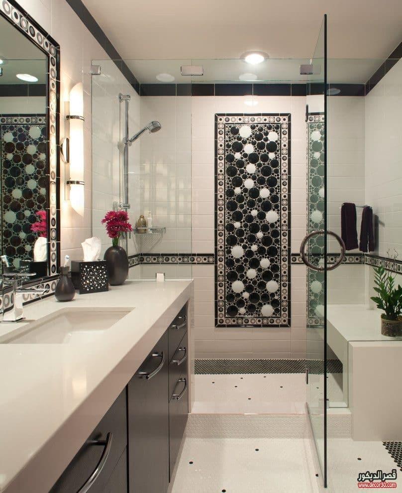 سيراميك حمامات صغيرة 2017 Ceramics Small Bathrooms قصر الديكور