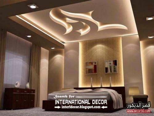 اسقف جبس غرف نوم 20١8 Gypsum Ceiling Bedrooms قصر الديكور