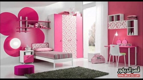 غرف نوم اطفال بنات جديده
