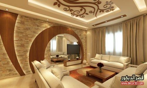 تصاميم جبس بورد للجدران الريسبشن
