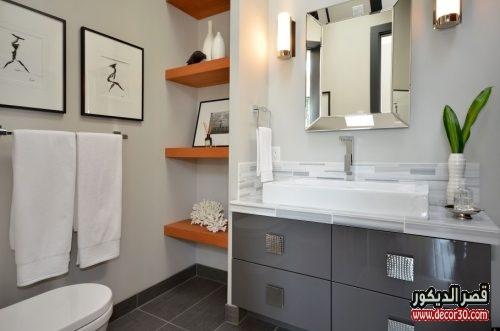تصميم حمامات صغيرة جديدة