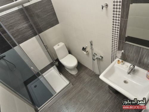 تصميم حمامات صغيرة للشقق