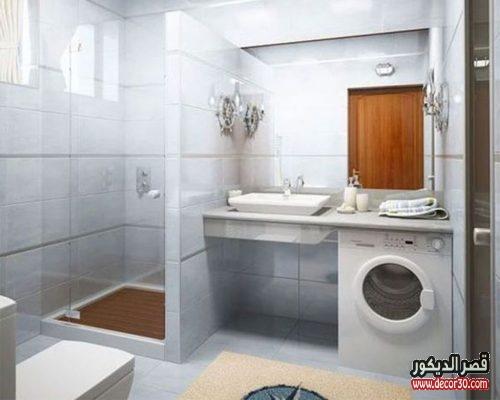 تصميم حمامات صغيرة