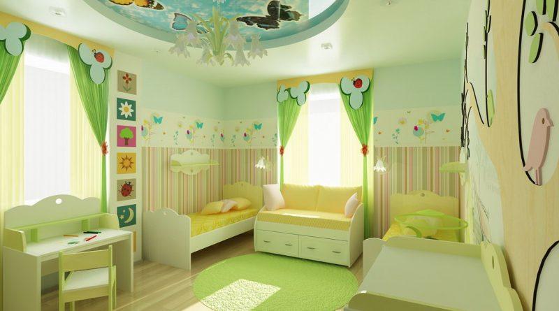 دهانات غرف الأطفال حديث