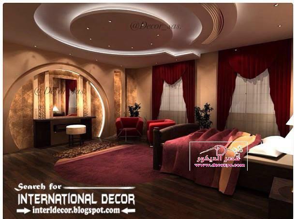ديكورات جبس بورد للاسقف Decoration Gypsum Board Of Ceilings قصر