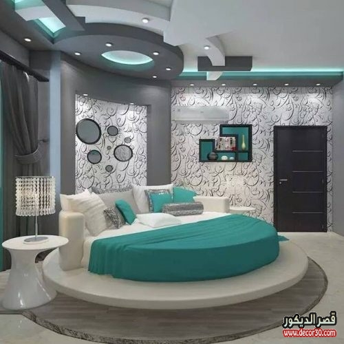 ديكورات جبس غرف نوم حديثة