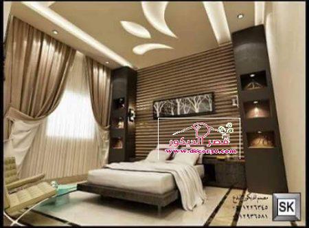 ديكورات جبس غرف نوم 2018 Gypsum Decoration For Bedrooms قصر الديكور