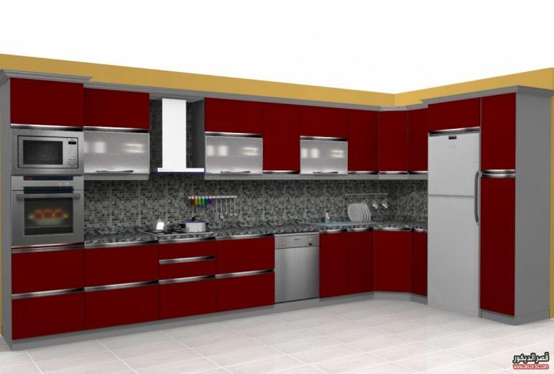 صور أحدث المطابخ الخشبية ومطابخ مودرن, Modern Kitchen Decorations