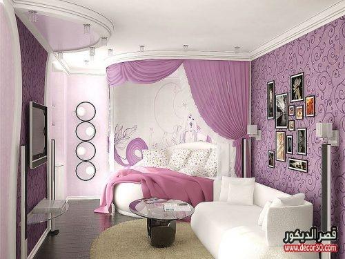 ديكورات غرف نوم ضيقة
