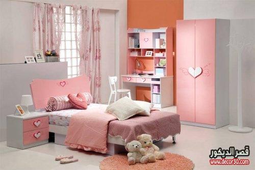 غرف نوم اطفال بنات جديدة
