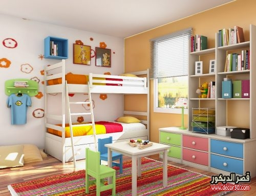 غرف نوم اطفال دمياط