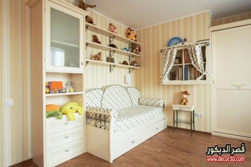 غرف نوم اطفال صغيرة