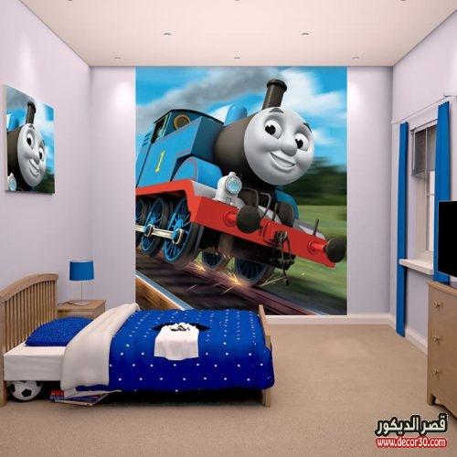 ورق حائط 3d لغرف الاطفال 2018