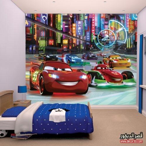 ورق حائط 3d لغرف الاطفال