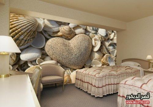 ورق حائط 3d لغرف النوم