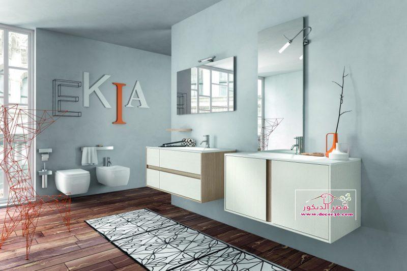 تصميم حمامات صغيرة روعة- nice small bathroom