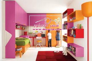 دهانات غرف أطفال- nice kids room 2018