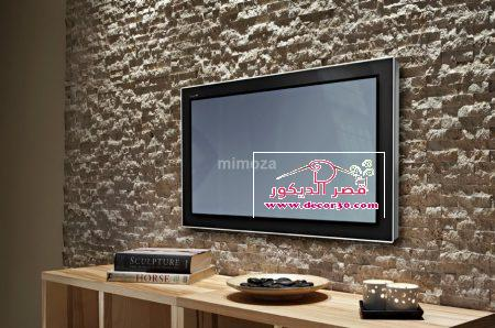 حوائط جبسيات تليفزيون بطرق مختلفة