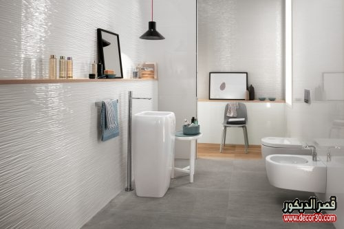 أشكال سيراميك مودرن حمامات