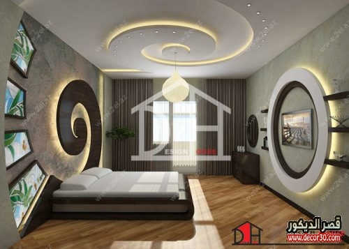 تصاميم جبس بورد لغرف النوم