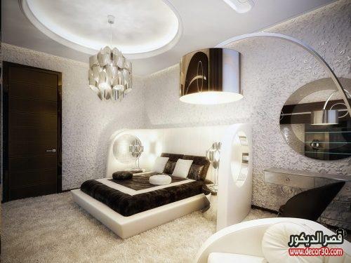تصاميم غرف نوم للعرسان بسيطة