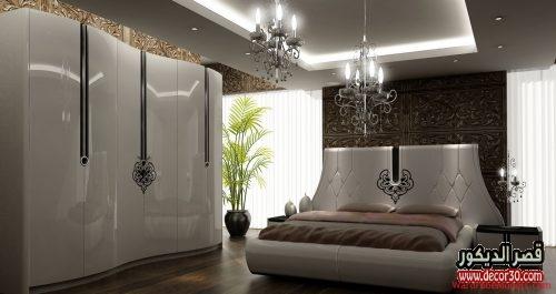 تصاميم غرف نوم للعرسان فخمة