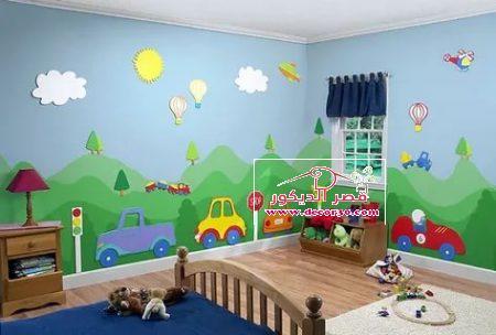 اجدد دهانات لغرف الاولاد