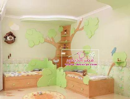 اجمل دهانات غرف اطفال