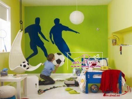 دهانات غرف اطفال اولاد Paints Childrens Rooms 2018 قصر الديكور