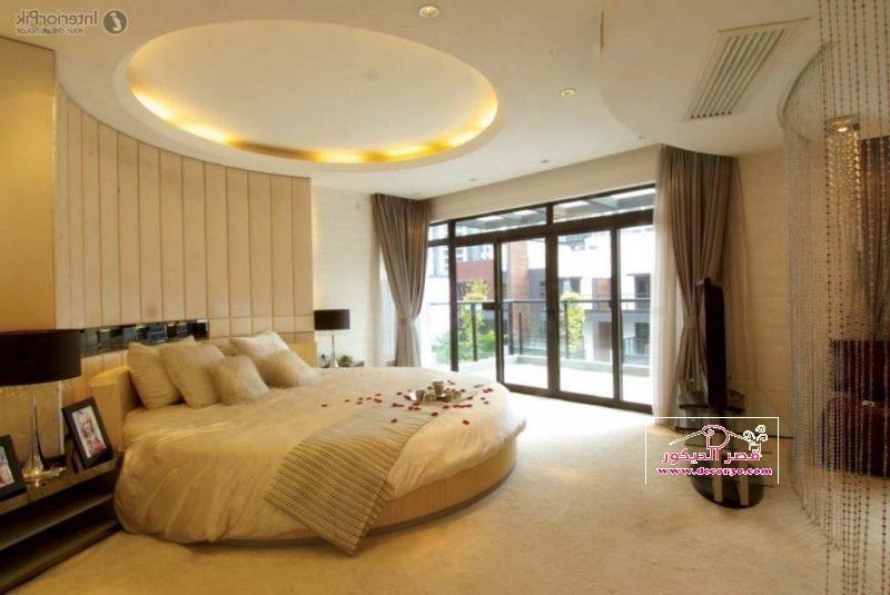 تصاميم اسقف جبس غرف نوم
