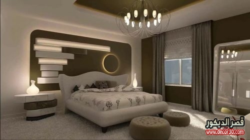 big master bedroom اسقف جبس غرف نوم رئيسية gypsum ceiling master bedroom 10837