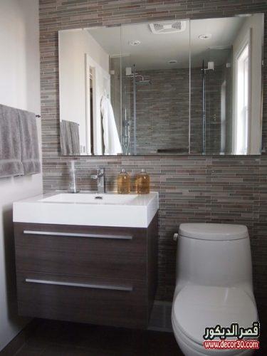 ديكور حمام صغير
