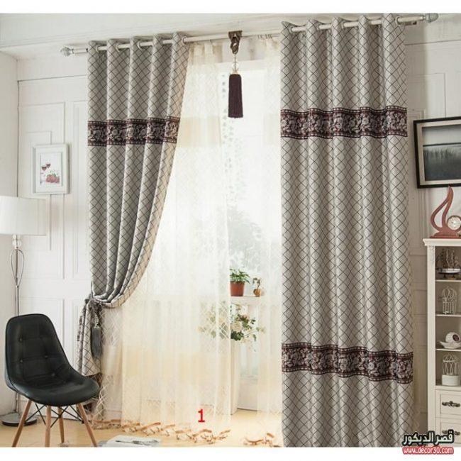 موديلات ستائر إيطالية جديدةnew Italian Curtain Models قصر الديكور