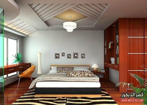 صور احدث تصميمات غرف النوم بسيطة
