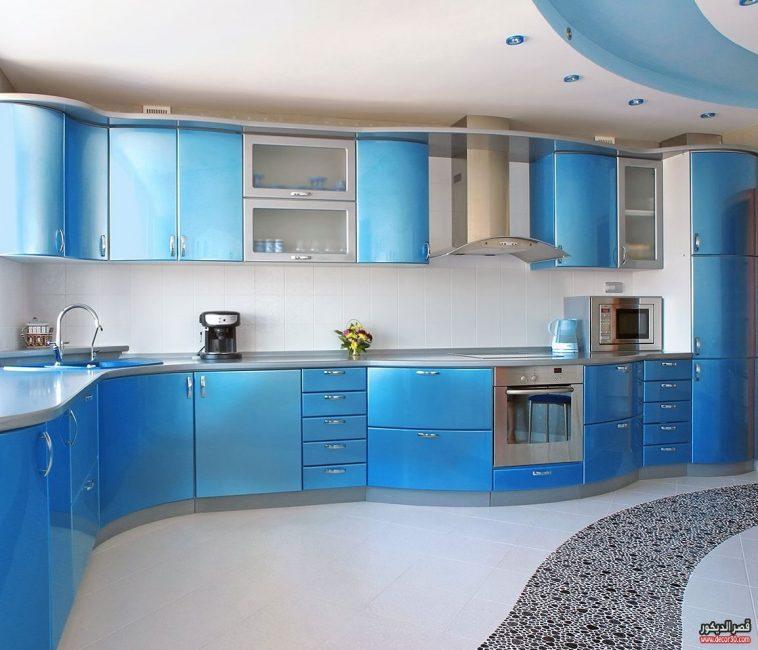 احدث تصاميم المطابخ الالوميتال Latest Alumetal Kitchen