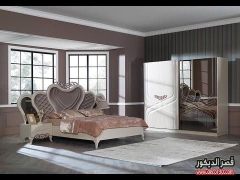 غرف نوم كاملة بالدولاب والتسريحه 2018