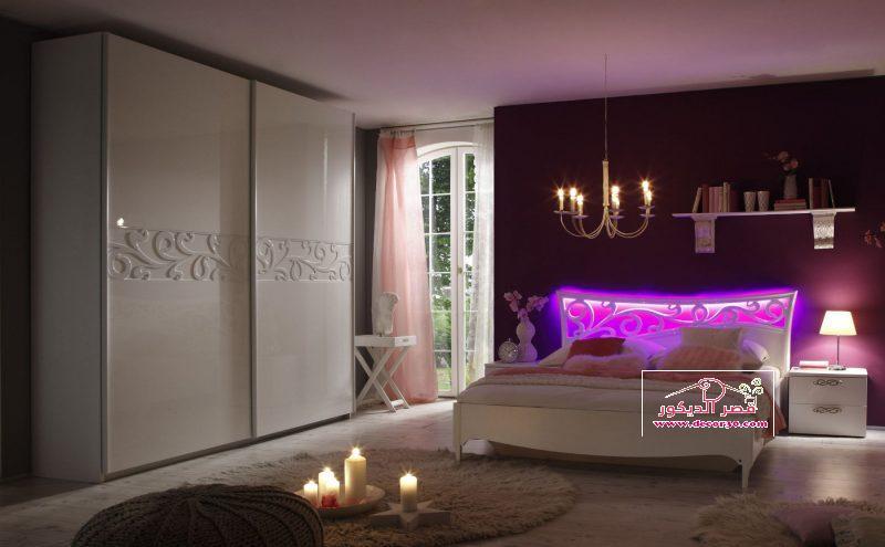 تصاميم غرف نوم للعرسان