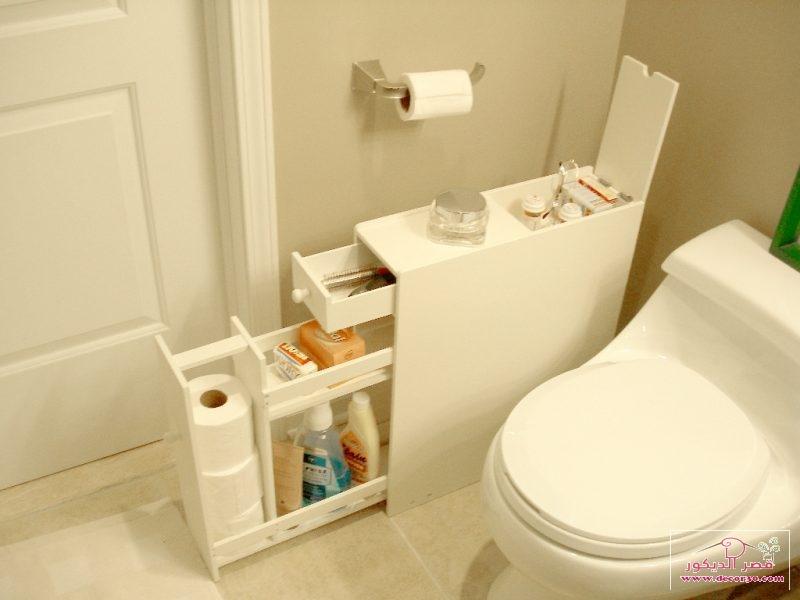 افكار تصاميم حمامات صغيرة وبسيطة