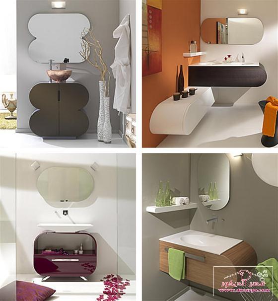 تصميمات حمامات صغيرة