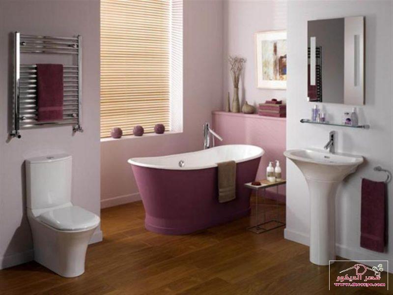 تصاميم حمامات صغيرة وبسيطة