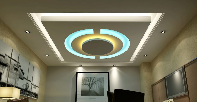 modern gypsum board ceiling. Black Bedroom Furniture Sets. Home Design Ideas