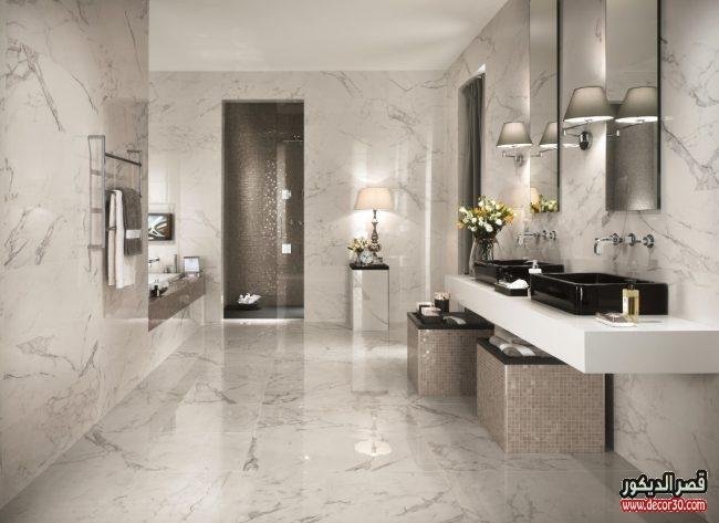 تصاميم سيراميك حمامات