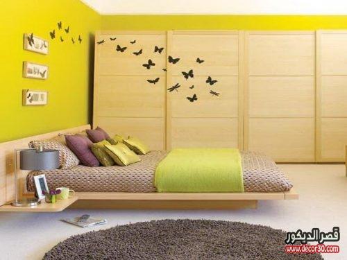 دهانات غرف نوم متنوعة