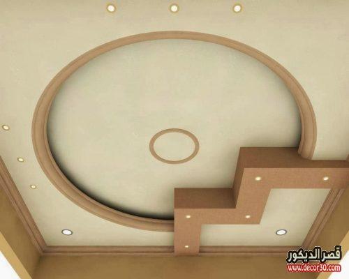 اشكال اسقف جبس بسيطة