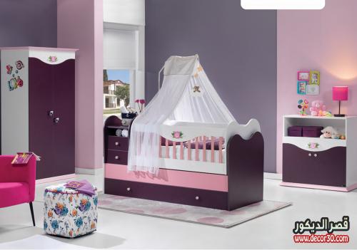 الوان غرف اطفال تركية