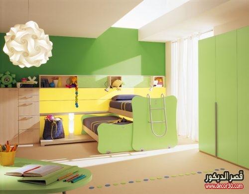 الوان غرف نوم اطفال تركية