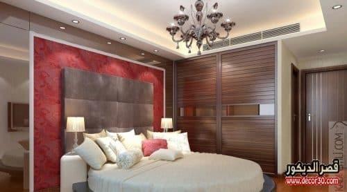 ديكورات جبس غرف النوم بسيطة