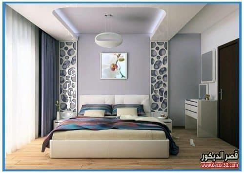 ديكورات جبس غرف النوم جديدة