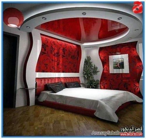 ديكورات جبس غرف النوم